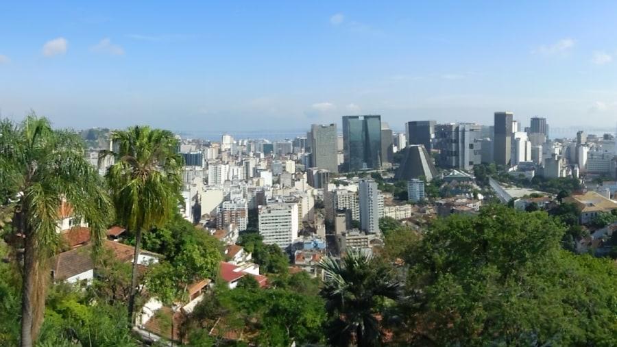 downtown ,view from Santa Teresa