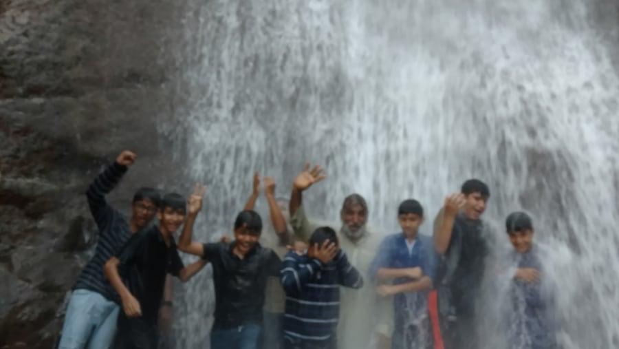Waterfall at Pir Chanasi