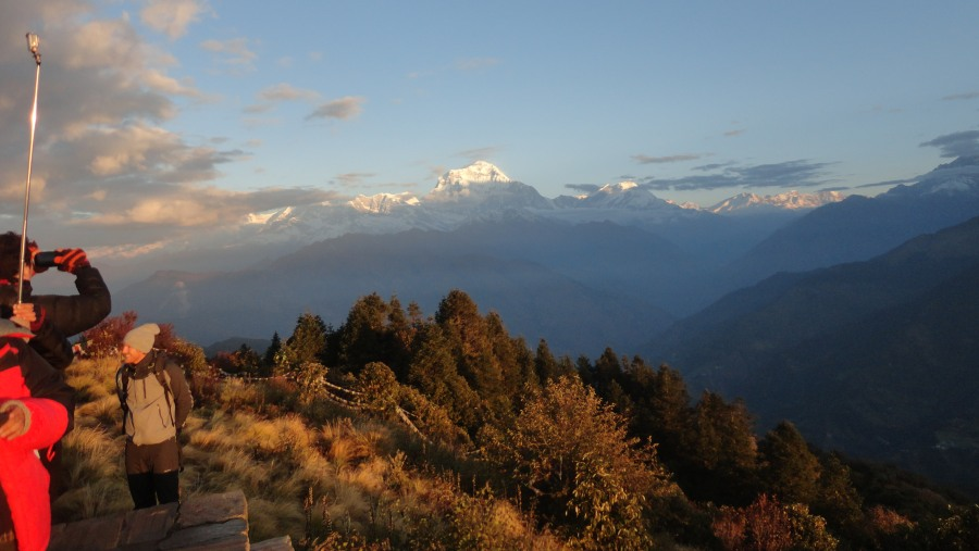 Dhaulagiri Mountaion View from Poon Hill
