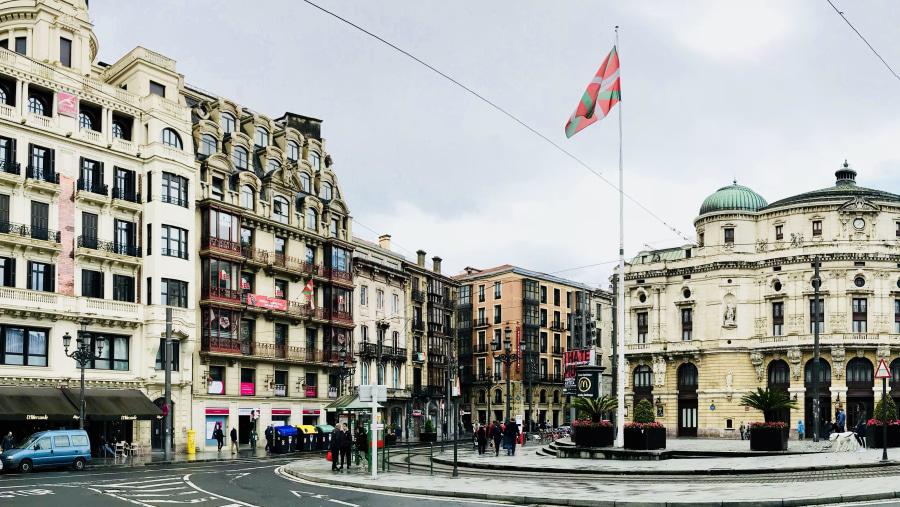Bilbao,Old Quarters ,Arriaga Theater