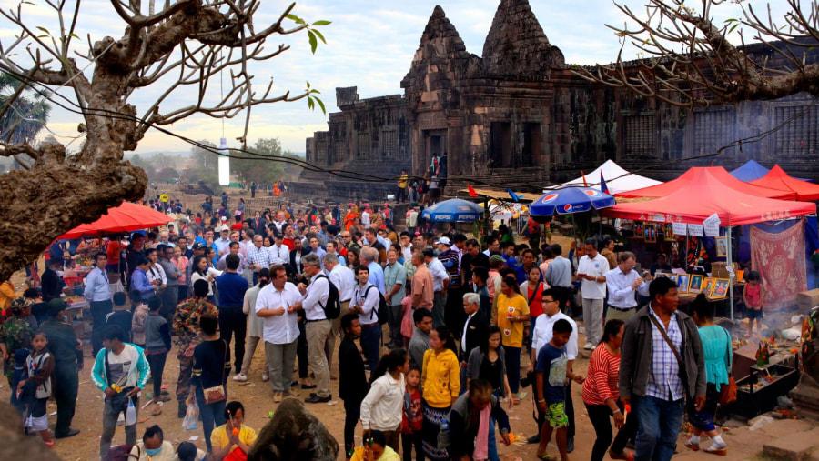 Wat Phu at Champasak