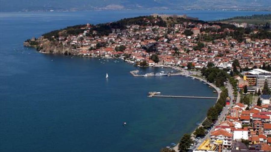 Ohrid from Galicica