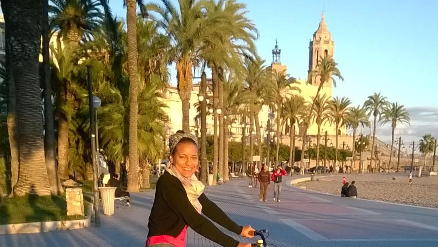 By Bike around Sitges