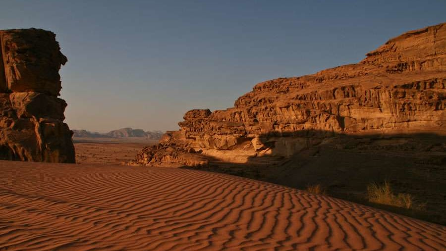 Sand dunes and Cliff faces