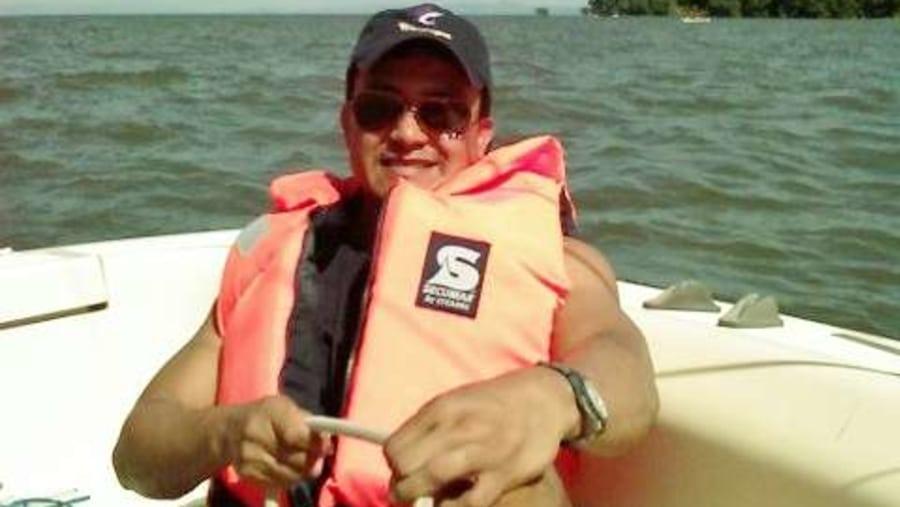 sailing boat on the lake Nicaragua