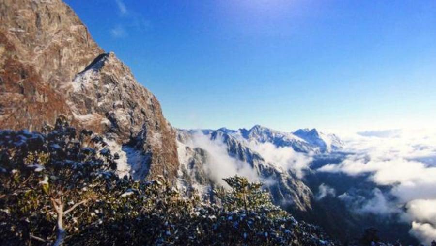 Myanma snow-capped mt