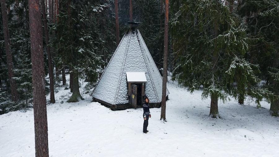 Winter wonderland hike
