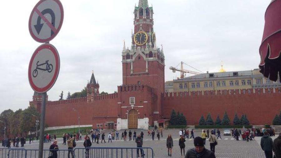 Red Square, Saint Saviour Tower and Gate of Kremlin © Inna Goudkova