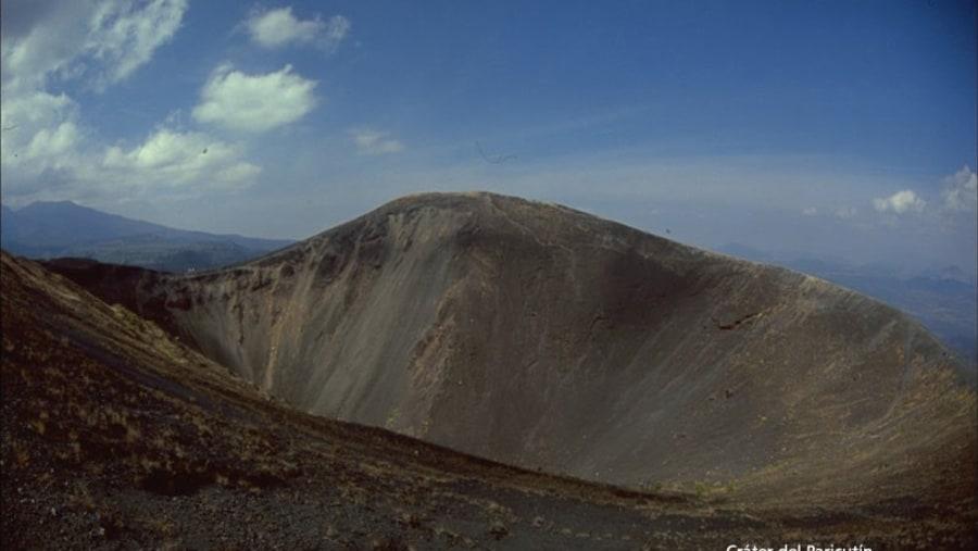Paricutin crater