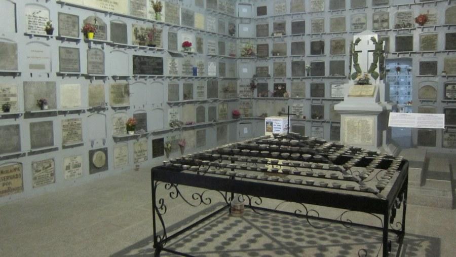 San Agustin Crypt