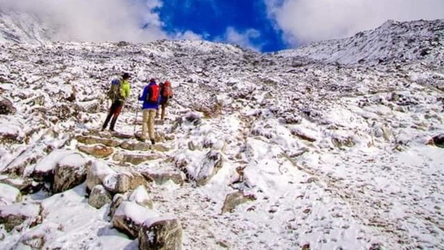 Everest base camp trek with Ramesh Dhamala