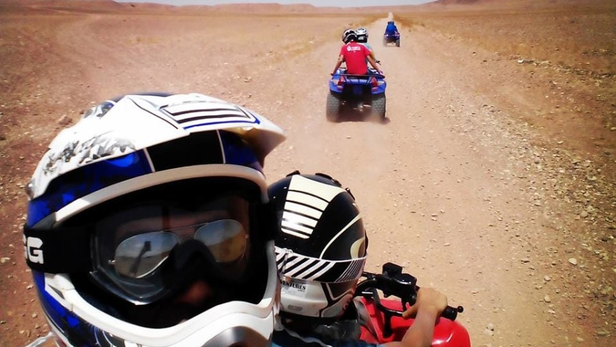 Excursion with motoquad