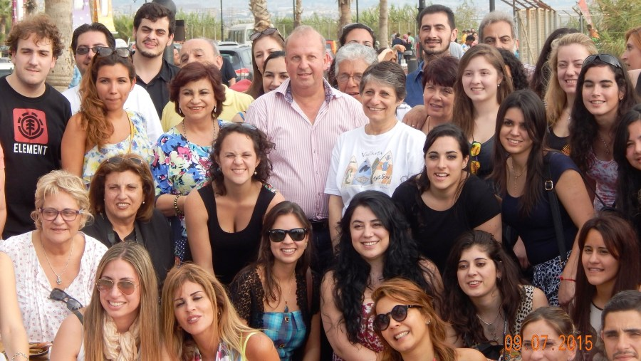 Arrival to Beirut of tourists from Lebanese Origin (2015-07)