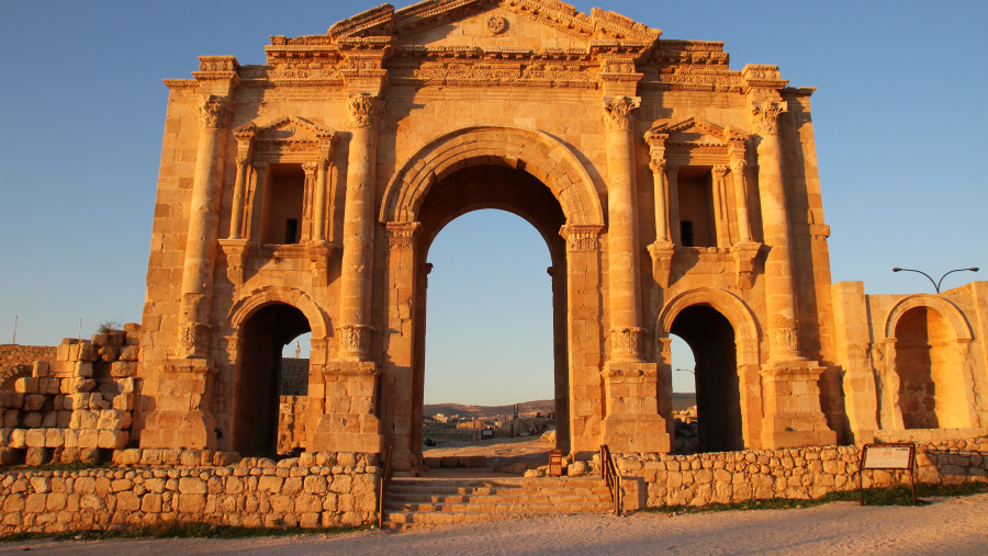 Romanian City Jerash