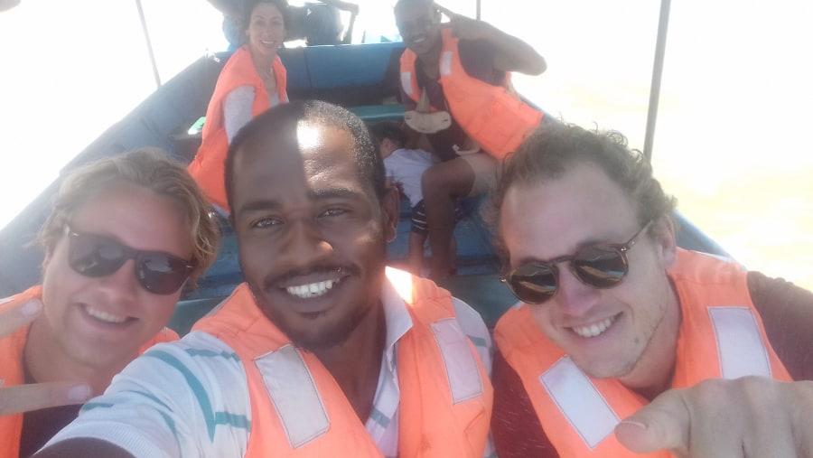 Boat Trip On Lake chamo