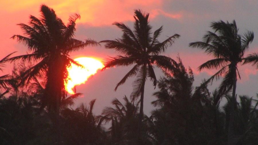 Vilanculos sunset, Mocambique