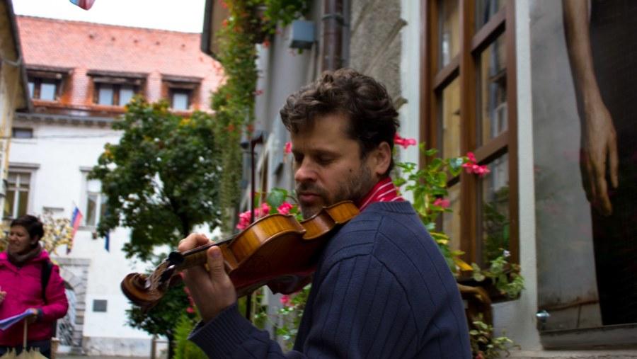Violinist Bruno