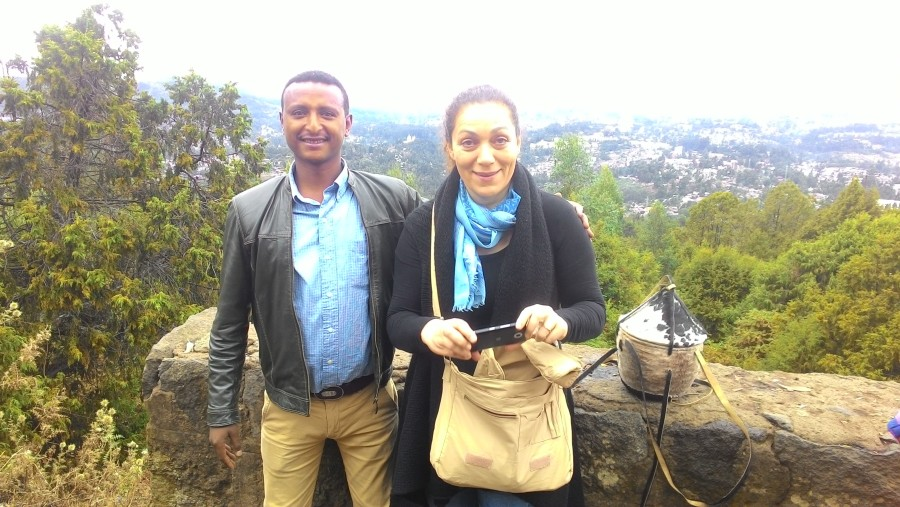 From Mount Entoto overlooking Addis Ababa