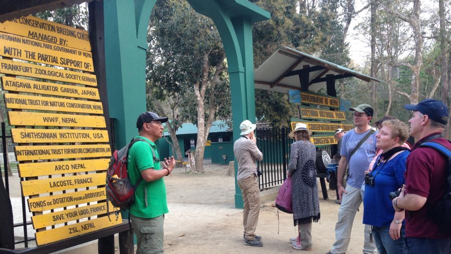 Briefing at National Park
