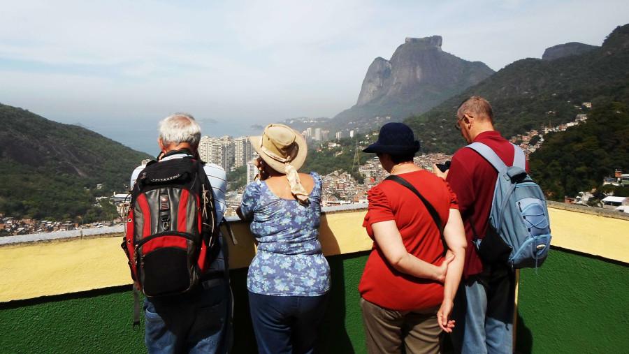 Favela da Rocinha overview