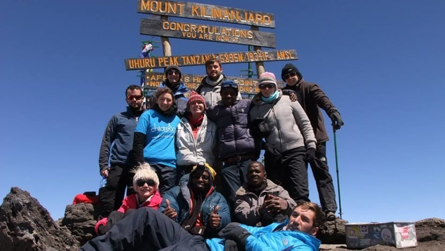 Climbing Kili for Childreach
