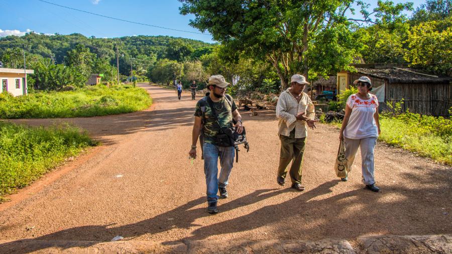 Community-based tour in San Agustín (Tekax)