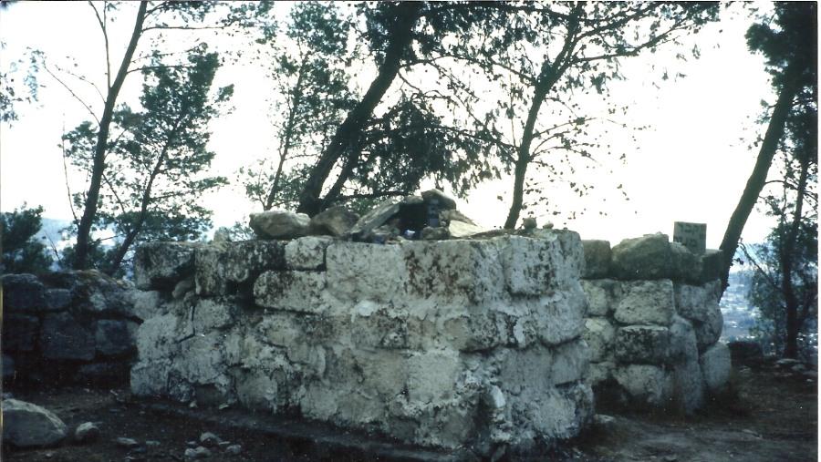 The tomb of Manoah&Samaon.