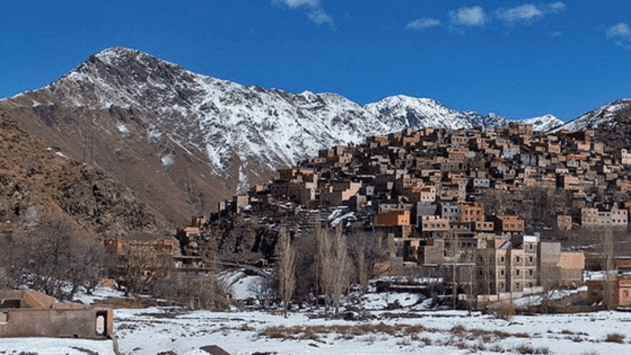 Armed village Atlas Mountains