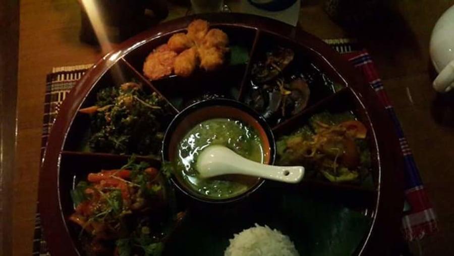 Myanmar set menu