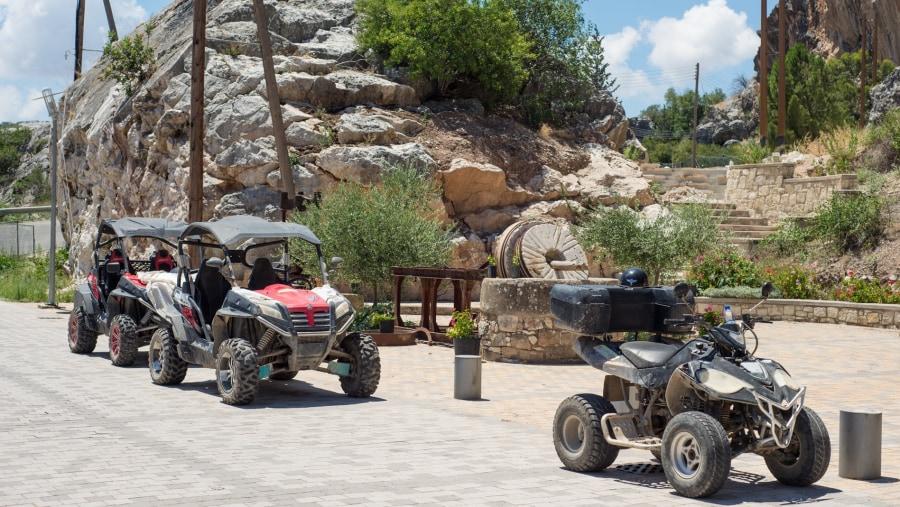 Quad & Utv safari tours in Paphos village