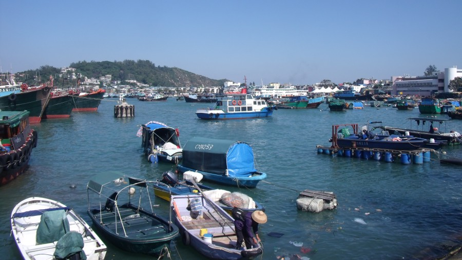 Port of Cheung Chau
