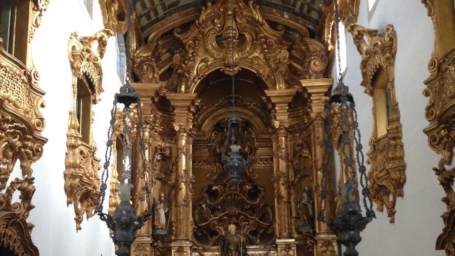 Mosteiro de São Bento de Olinda (altar-mor)