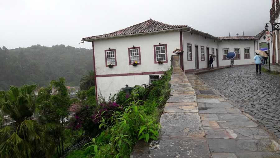 Vista da casa que pertenceu a família Dummont
