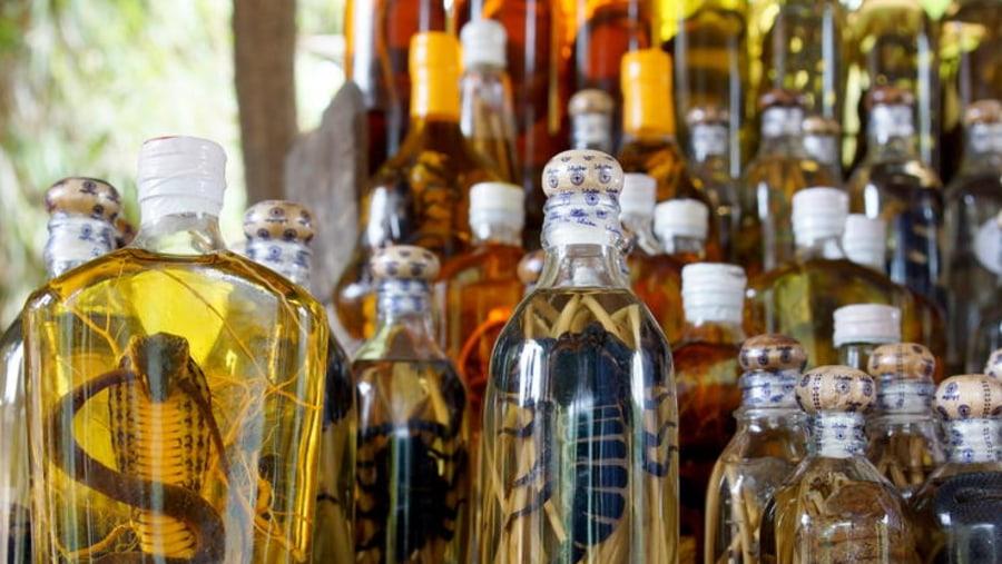 Ban Xang Hai a whisky making Village