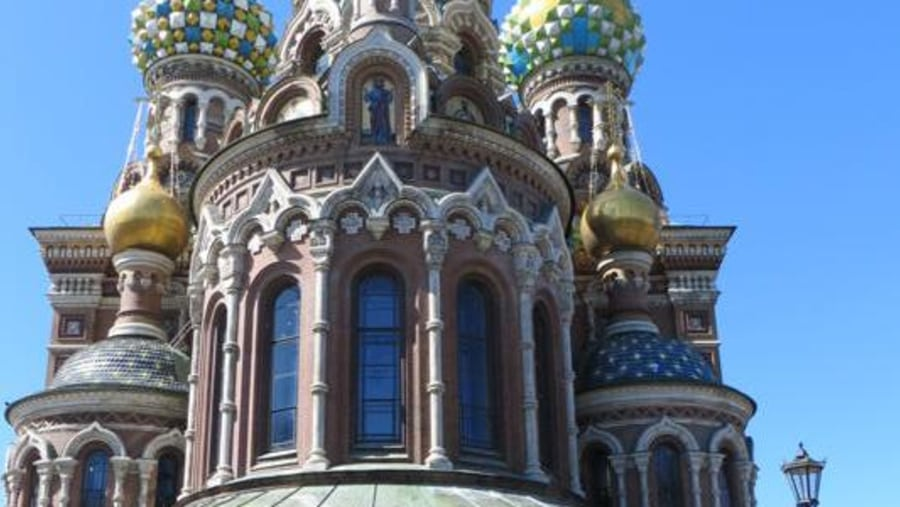 Our Saviour on the Spilled Blood Cathedral