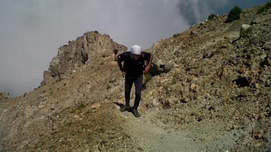 Daniel Biou at Egon Volcano
