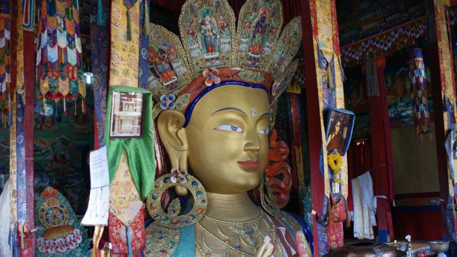 Maitrya Buddha, Thiksey Monastery