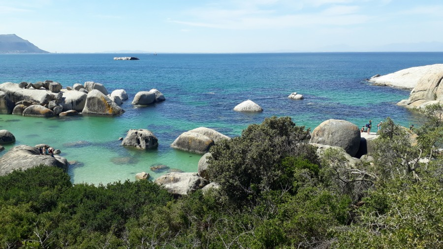 Crystal Clear water of Boulders Beach