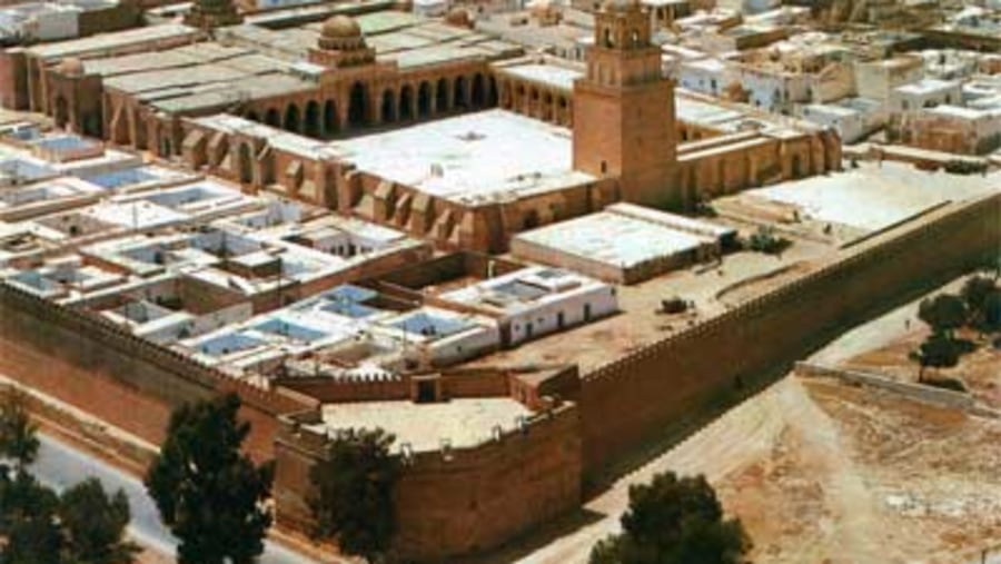 the medina or the ancient city build during the middle age