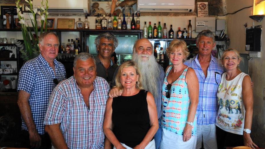 With Uri Buri - the Best Fish restaurant
