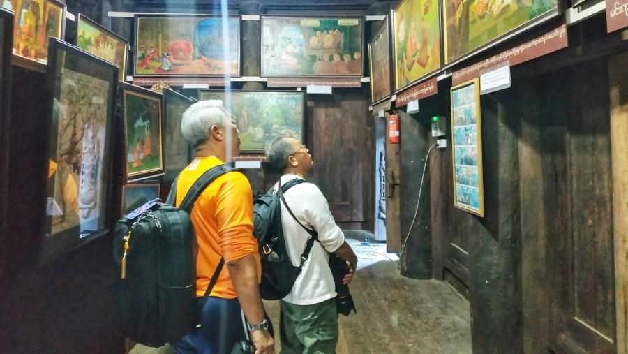 Exploring ancient monastery