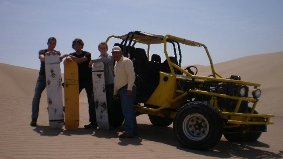 Buggy ride at Ica desert
