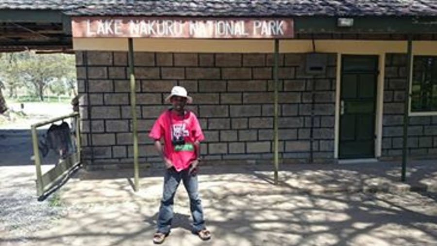 Lake Nakuru gate