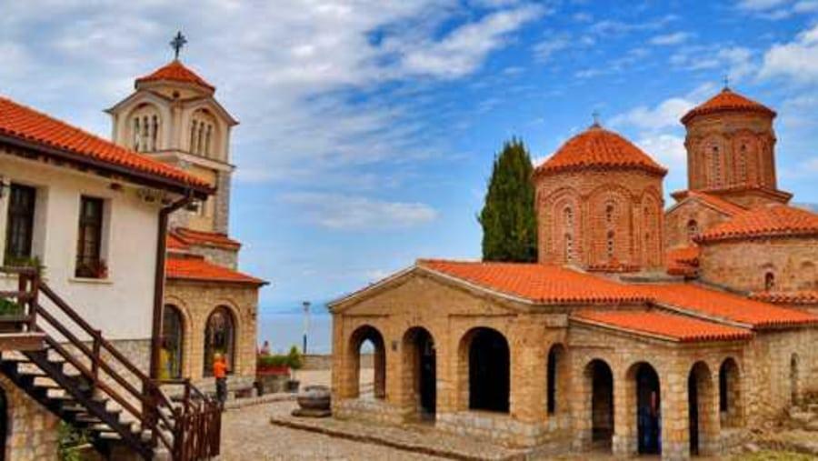 St.Naum Monastery complex
