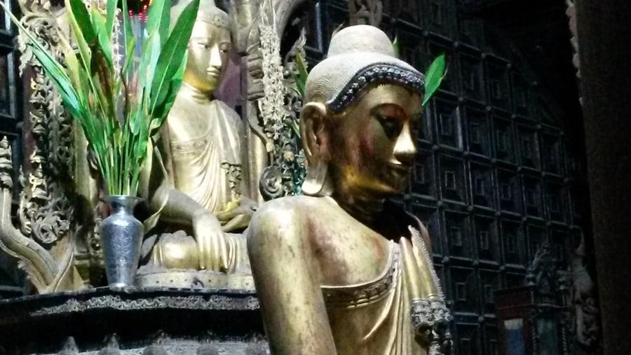 wonderful guide in Mandalay