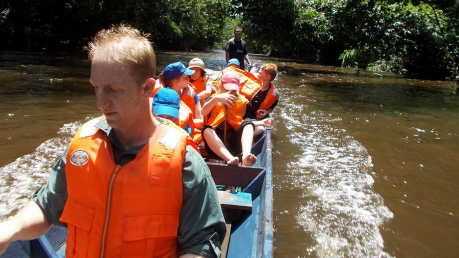 Longboat ride
