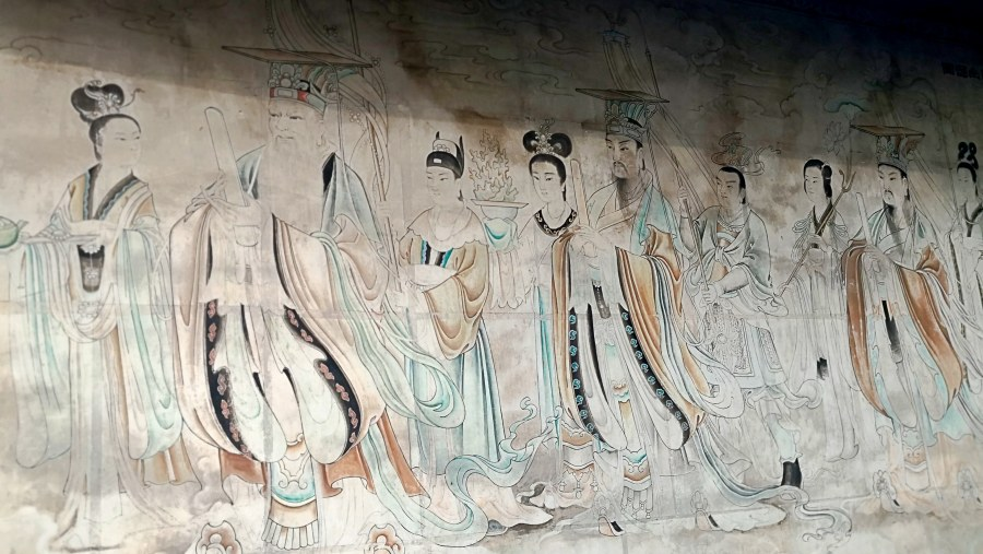 Wall Painting in Qingyang Monastery