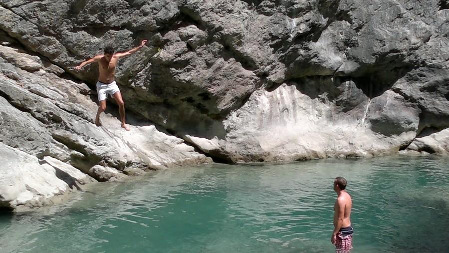 In Erzen canyon