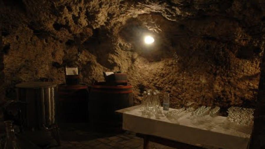 Winery inside vault