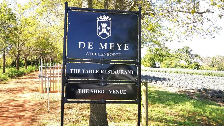 De Meye Wine Estate